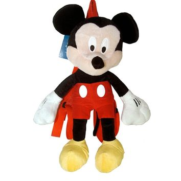 "Mickey Mouse Plush 15"" Backpack - Disney Mickey Plush Backpack"