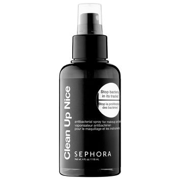Sephora: SEPHORA COLLECTION : Clean Up Nice Antibacterial Spray : cosmetic-brush-cleaner