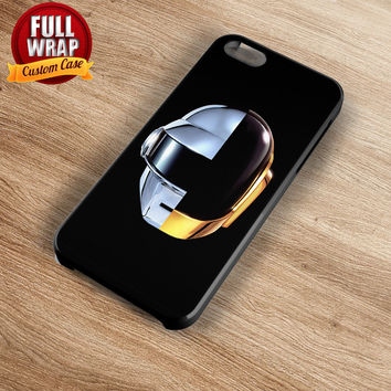 Daft Punk Art Work Logo Full Wrap Phone Case For iPhone, iPod, Samsung, Sony, HTC, Nexus, LG, and Blackberry