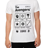 Marvel Universe The Avengers Product Slim-Fit T-Shirt | Hot Topic