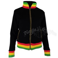 Rasta and Reggae Track Jacket - Women's @ Rastaempire.com