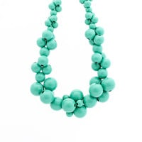 MoleCOOLs Mint wooden necklace