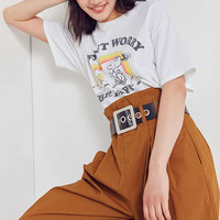 Junk Food Snoopy Don't Worry Tee | Urban Outfitters