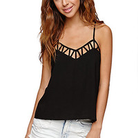 LA Hearts Lattice Racer Cami at PacSun.com