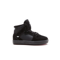 Supra - Kids Toddler Vaider - Black/Black