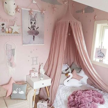 Cotton Kids Girls Mantle Nets explosion models with exclusive custom children room dome bed curtain bed curtain tent 240cm