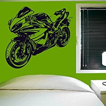 Wall Decal Vinyl Sticker Decals Art Decor Design Dirty Motocross Motorcycle Moto Sport Extrime Sport Car Children Cool Gift Bedroom(r396)