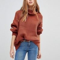 Free People Swim Too Deep Batwing Knit Sweater at asos.com