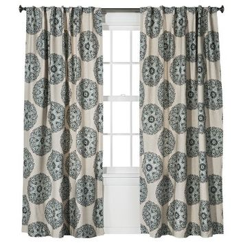 Threshold™ Medallion Curtain Panel