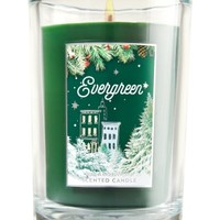 Medium Candle Evergreen