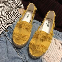 Chanel Fashion Casual Espadrilles