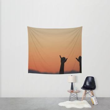 Hang Loose Wall Tapestry by Emma