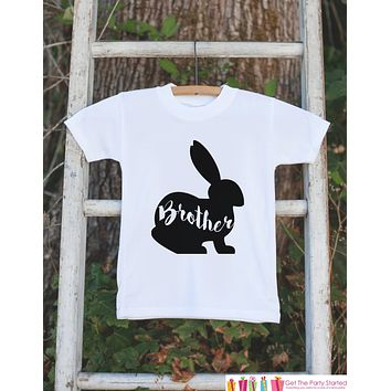 Boys Easter Outfit - Brother Bunny Onepiece or Tshirt - Kids Easter Bunny Outfit - Sibling Easter Outfits - Boys Baby Toddler Youth Shirt