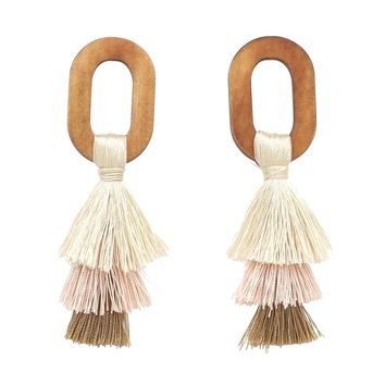 Sherbet Tassel Earrings