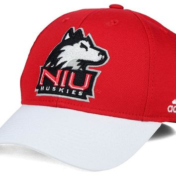 Mens adidas Northern Illinois Huskies NCAA16 Official Sideline Flex Hat