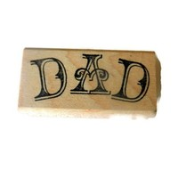 """Dad"" Rubber Stamp"