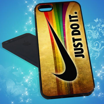 Nike iPhone Case Just Do It Sport for iPhone 4, iPhone 5, Samsung S3 I9300, Samsung S4 I9500 Print Hard Case