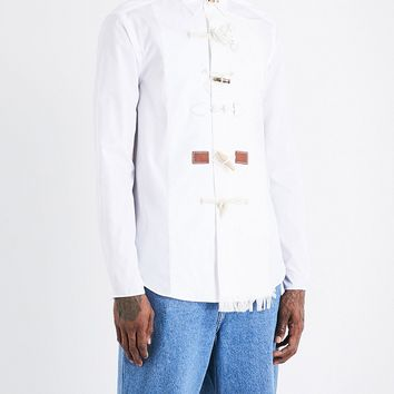 Raw Linen Relaxed Shirt by LOEWE