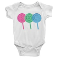 Lollipops Infant short sleeve Onesuit