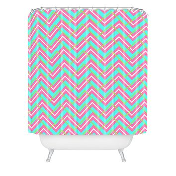 Caroline Okun Montauk Shower Curtain