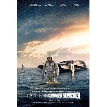 Interstellar 27x40 Movie Poster (2014)
