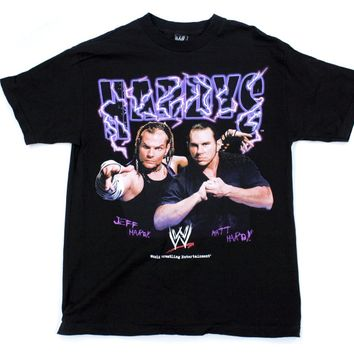 WWE HARDYS LIGHTING T-SHIRT LG
