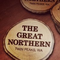 Great Northern Hotel, Twin Peaks Drink Coasters