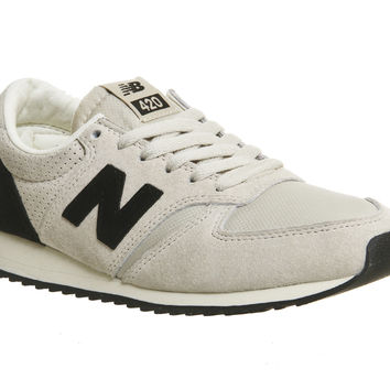 New Balance U420 Grey Black - Unisex Sports
