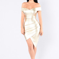 Elite Dress - Gold