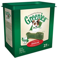 Greenies Dental Oral Care Regular Treats 27 ct