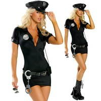 Cute Policewomen Halloween Costume