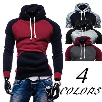Men Hats Hot Sale Stylish Long Sleeve Men's Fashion Hoodies [10669396099]