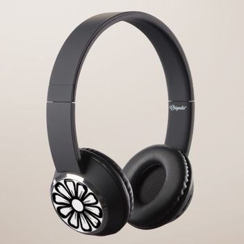 Black & White Headphones