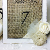 Wedding table numbers, Table number frames, Vintage style table frames, wedding decor frames, Bridal table, shabby chic or romantic frames