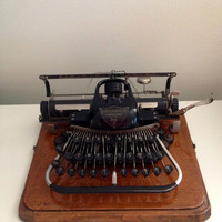 1904 Blickensderfer Number 7 Typewriter Manual Typewriter Portable Working Typewriter RARE Collectible