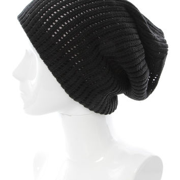 THERMAL TWO TONED BEANIE