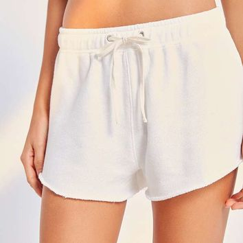 Out From Under Vicky Terry Knit Shorts | Urban Outfitters