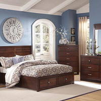 Langdon Queen Size Storage Bed