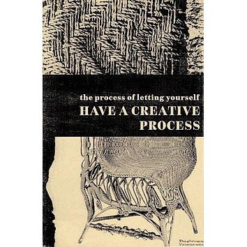 The Process of Letting Yourself Have a Creative Process Workbook by Jennifer Williams