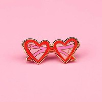 Heart Sunnies Pin
