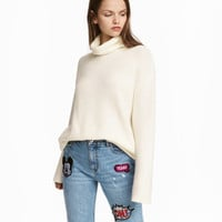 H&M Textured-knit Turtleneck $24.99