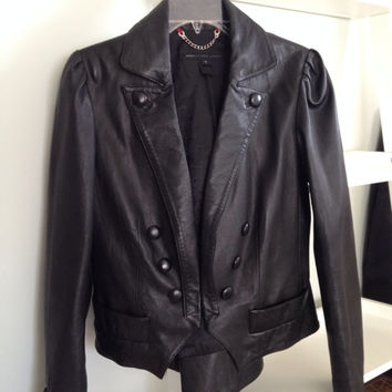 Leather Marc By Marc Jacobs Blazer Style Jacket