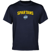 UNCG Spartans Mascot Logo T-Shirt - Navy Blue