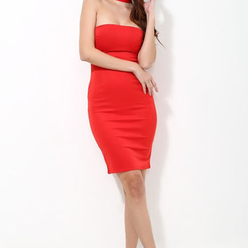 Rosey Bodycon Dress