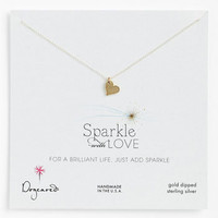 Dogeared 'Sparkle with Love' Pendant Necklace | Nordstrom