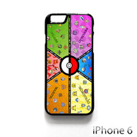 pokemon characters list for Iphone 4/4S Iphone 5/5S/5C Iphone 6/6S/6S Plus/6 Plus Phone case
