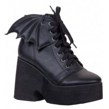 Bat Royalty Bat Wing Boot | Attitude Clothing