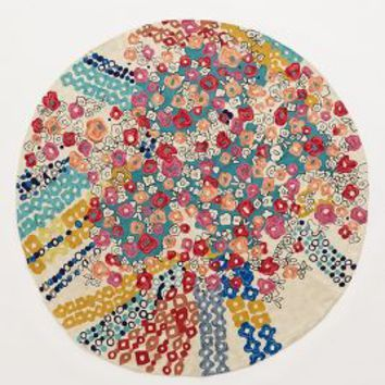 Confetti Flora Rug by Anthropologie