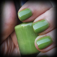 Fall Olive ARIA Indie Nail Polish Handmade Lacquer Custom