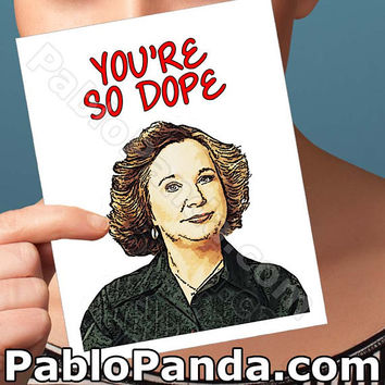 Funny Mothers Day | Kitty Forman | That 70'S Show Red Forman Mom Mom Card Thank You Cards Card For Wife Mothers Day Gift Funny Card For Her